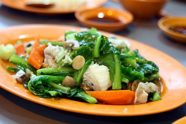 天外天鱼头汽船:什锦蔬菜