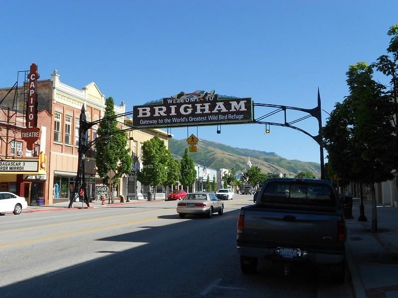 TLR tour USA, Day 16, Malad City to Brigham City