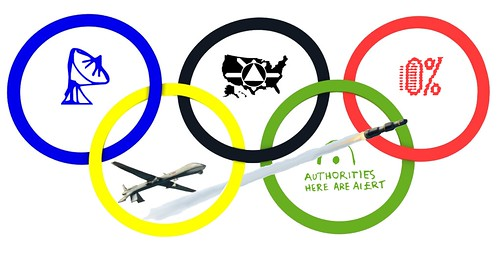 US OLYMPIC SYMBOL by Colonel Flick