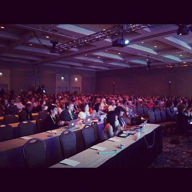 My audience. Let's do this #tbex !!