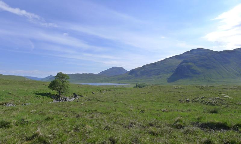 Loch Ghuilbinn and Beinn Eibhinn