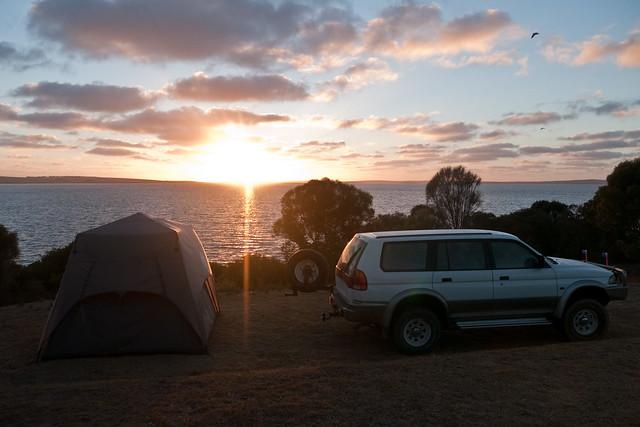Camping Sunrise