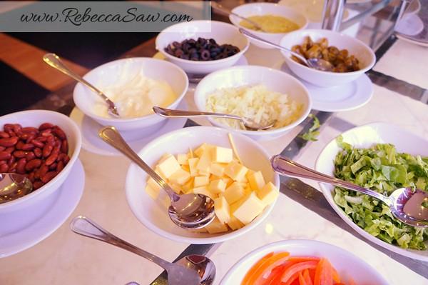 armada hotel buffet - burritos