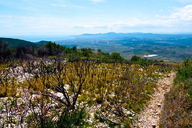 Trekking route Campanilles, Alcossebre.