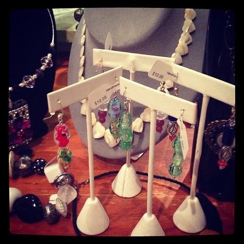 My earrings for sale @ B. Original