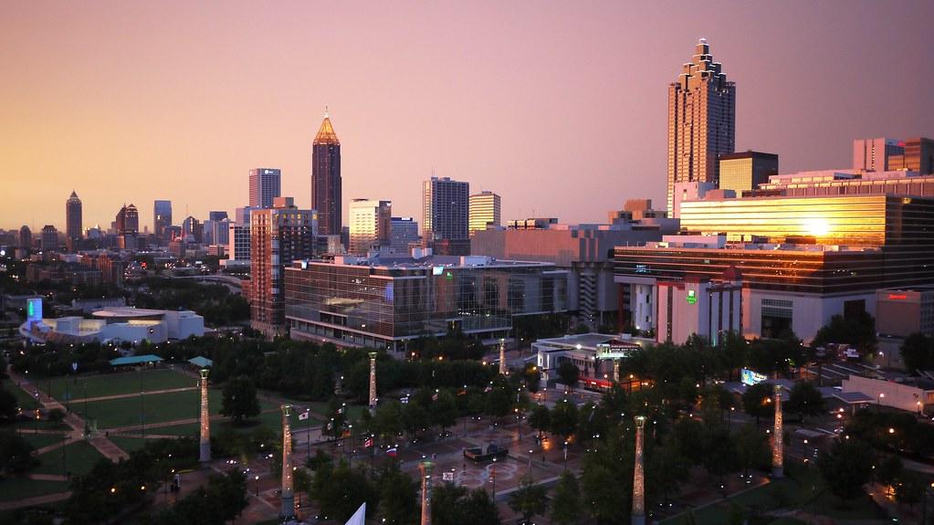 Dusk in Atlanta