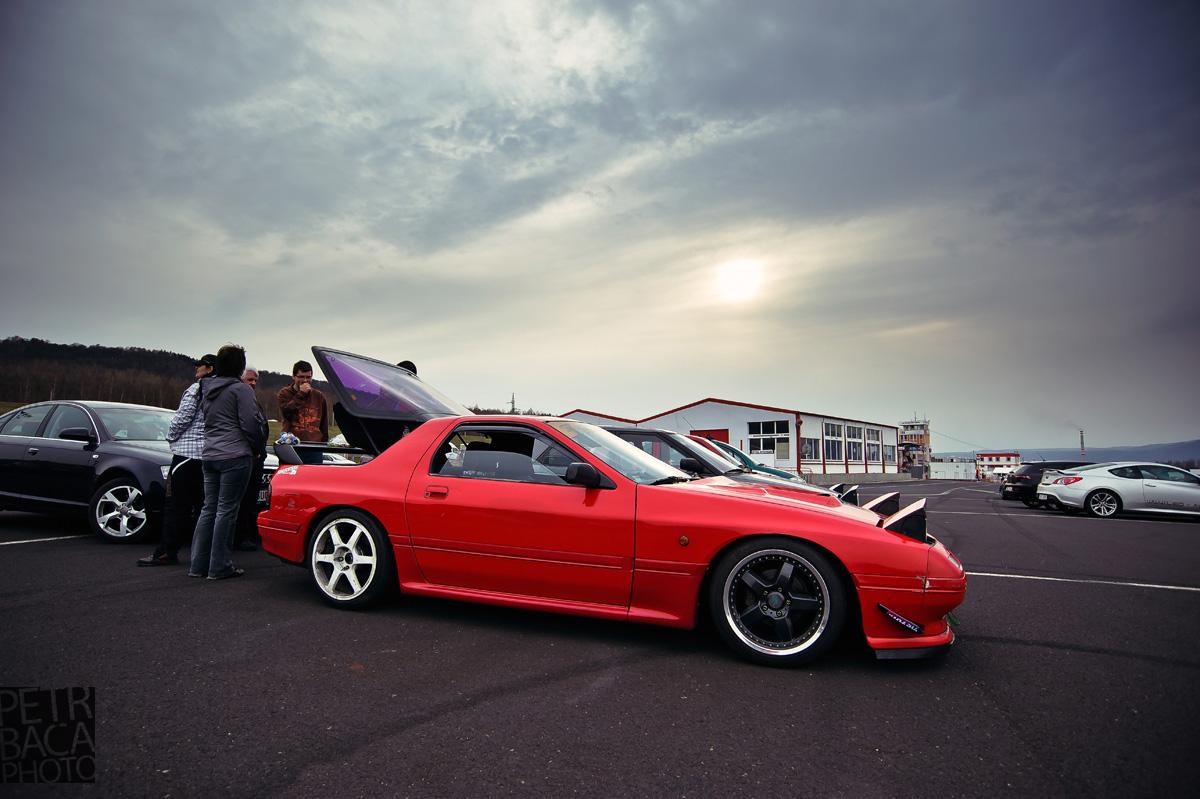 Autodrom Most, Den otevřených dveří, Mazda RX-7,