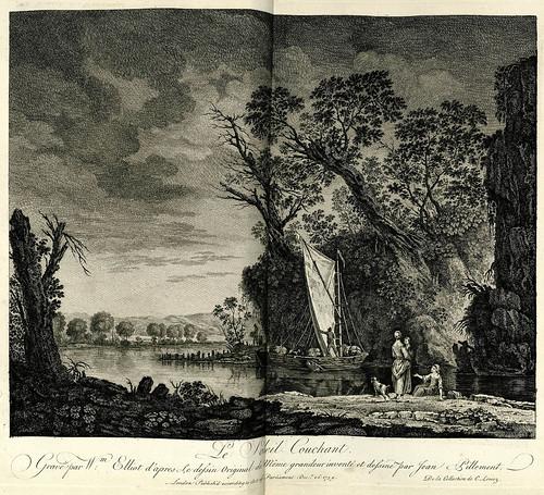001-Puesta de Sol-Oeuvre gravé de Jean Pillement..1767-Vol 1- INHA