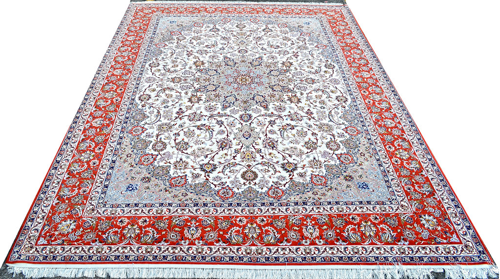 Isfahan 10x13 Persian Rug