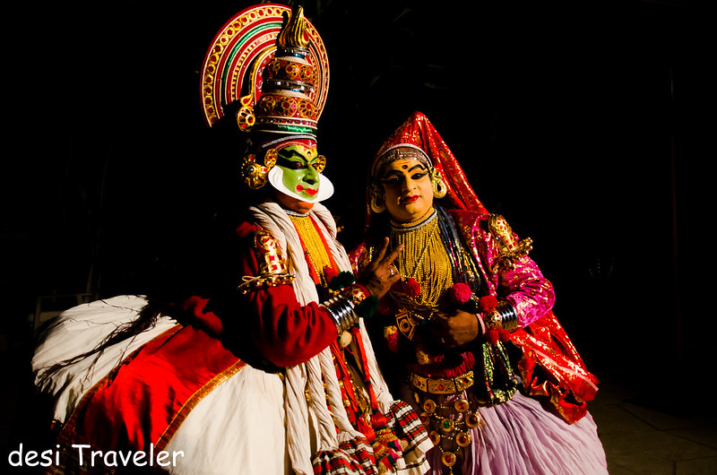 India Travel blog Kathakali