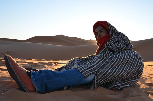 Bereber del desierto del Sahara
