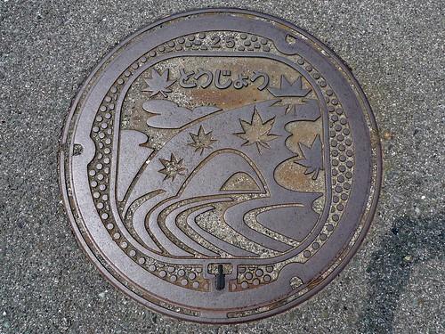 Tojo Hiroshima, manhole cover (広島県東城町のマンホール)
