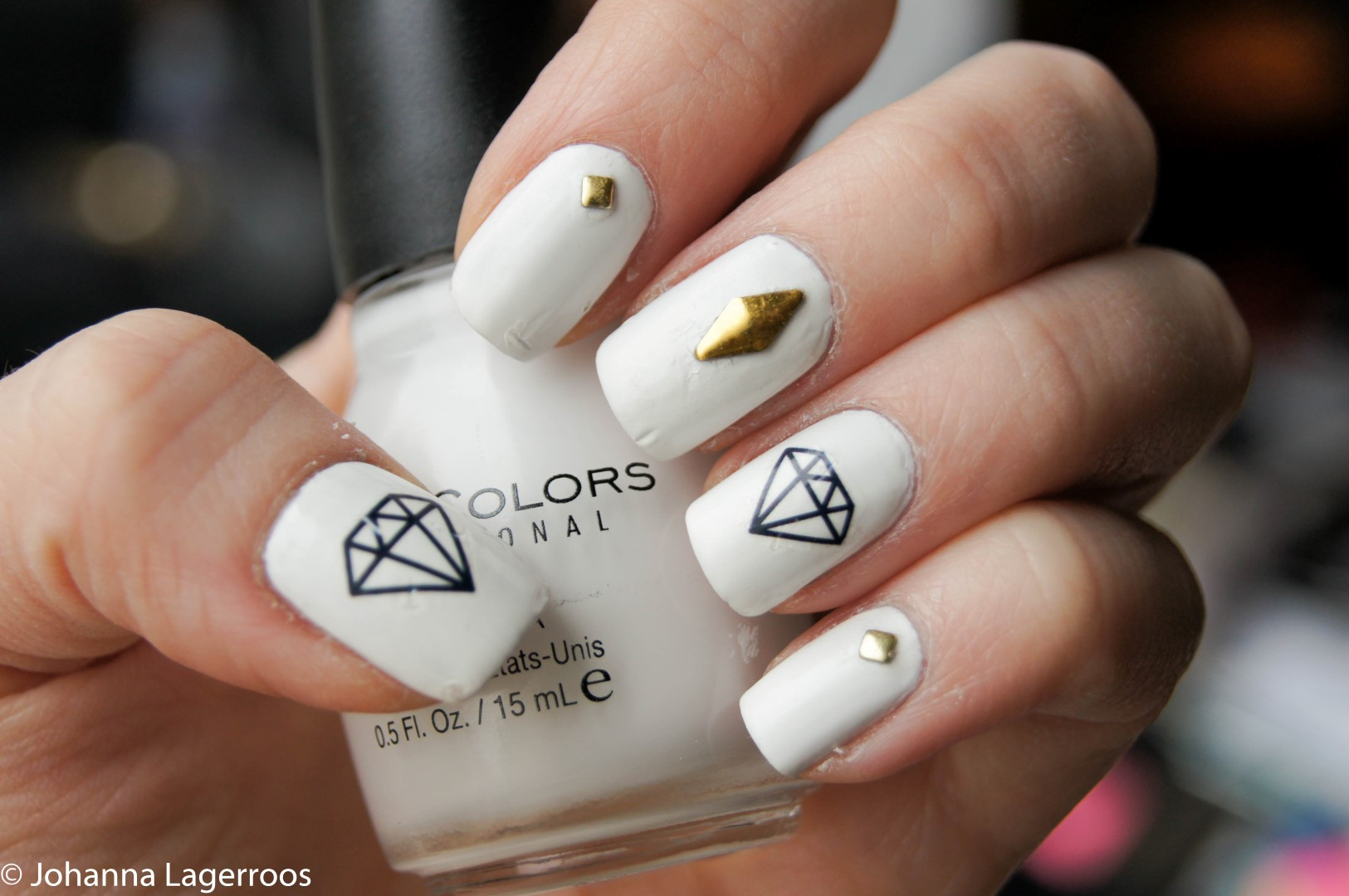 diamond nail decals