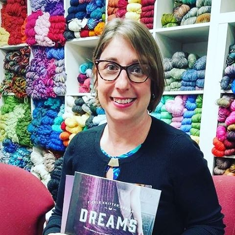 A pic from my visit to @yarnclub this past January!