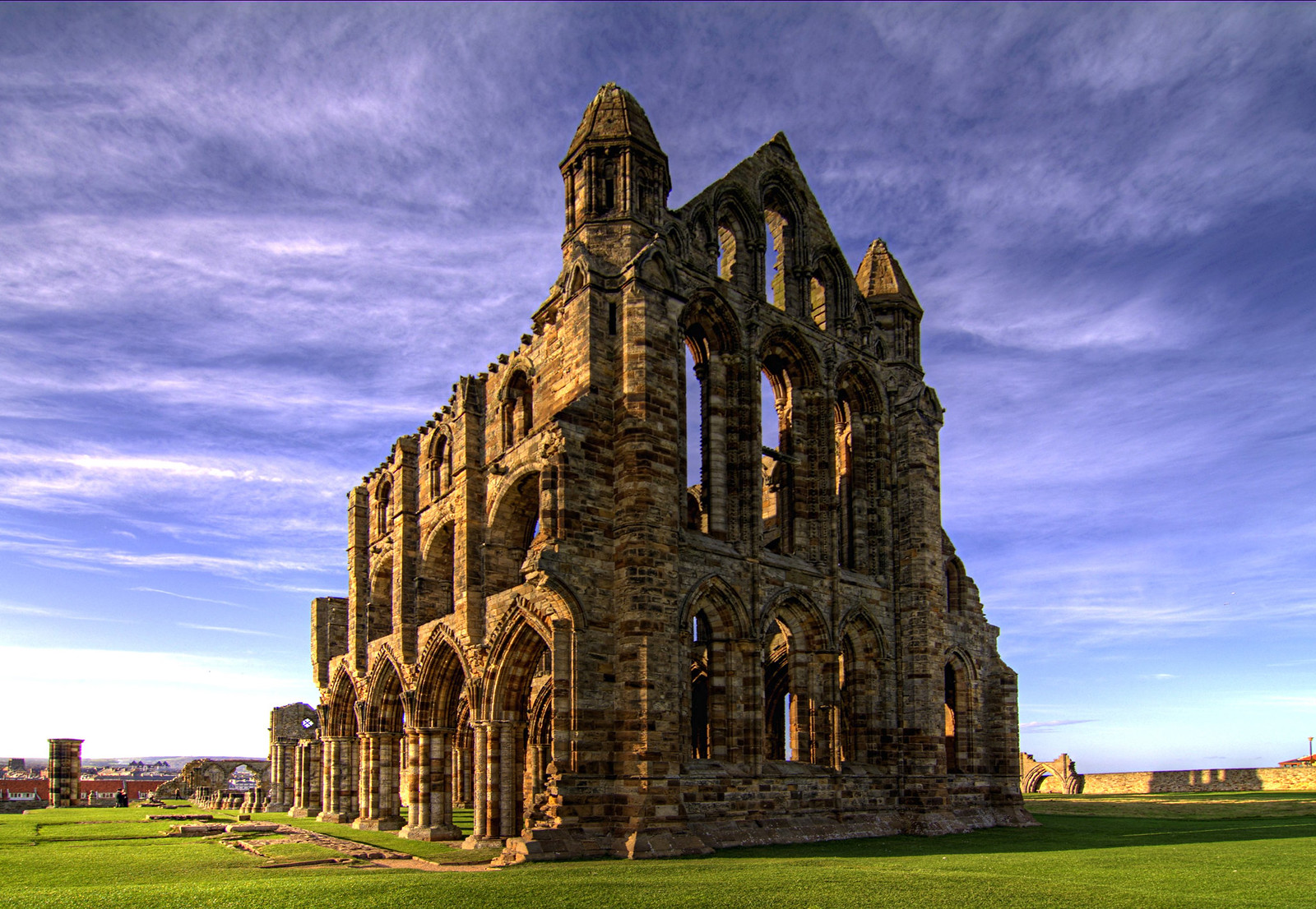 Whitby Abbey. Credit Chris Kirk