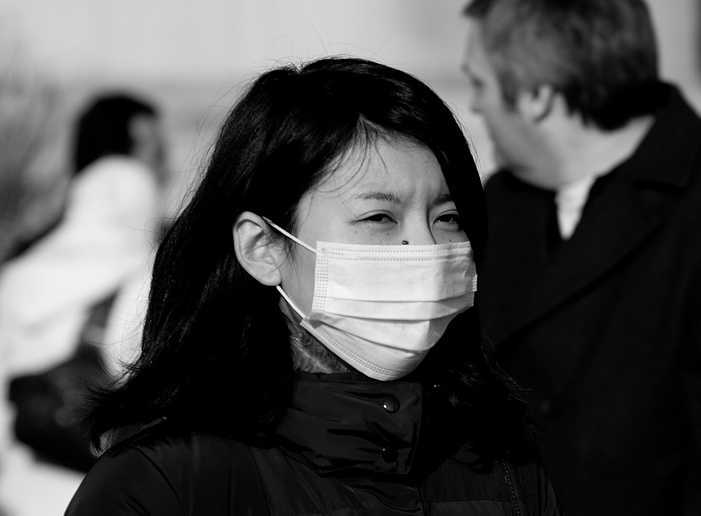 The Surgical Mask (Candid Street Portrait Photography)