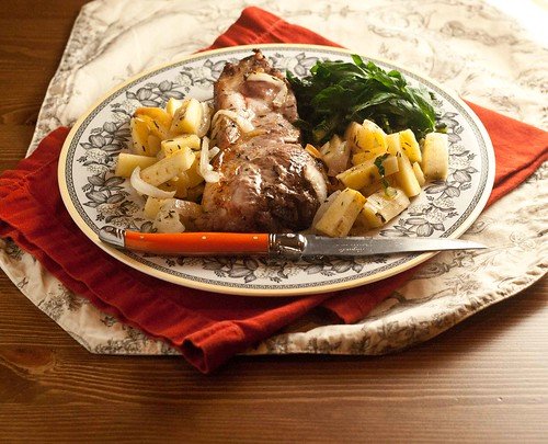 Roasted Pork with Parsnips and Apples (9 of 9)