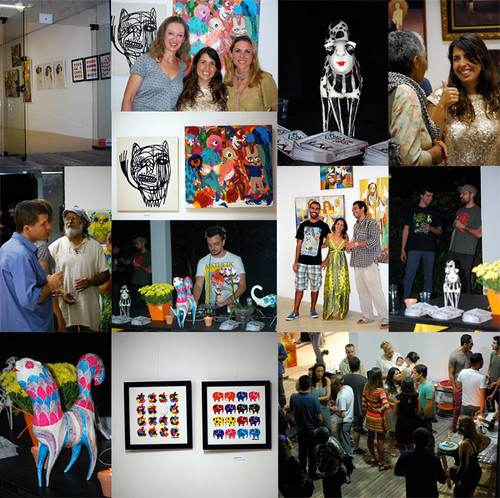 Maratona Cultural - Galeria COR - Opening by good mood factory / Anita Damas
