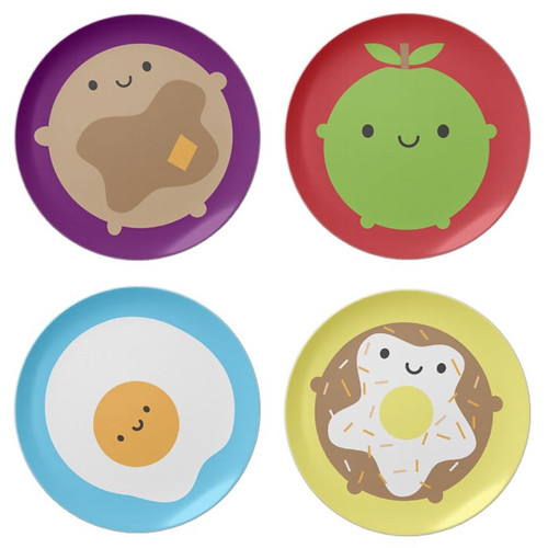 Zazzle Breakfast Plates