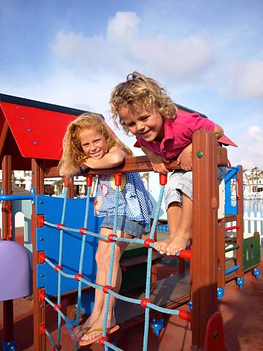 Children's play area, Sands Beach resort