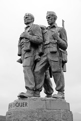Commando Memorial by Scott Sutherland