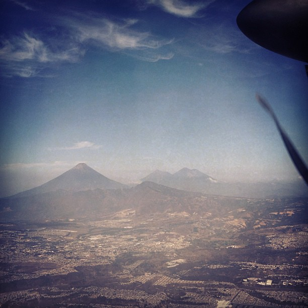 We climbed two of these volcanoes. :)