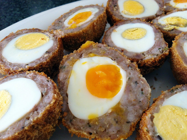 Easter Scotch Eggs Heston style