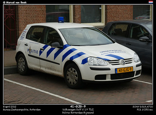 Dutch Police - Volkswagen Golf (41-GJG-9)