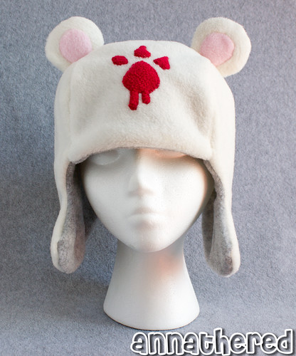 Ushanka hat prototype - fleece