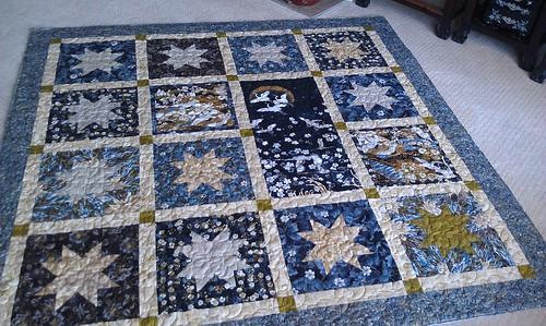 Mum's ImpStar: quilted