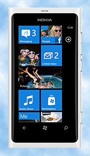 """White"" songs for the white Lumia 800."