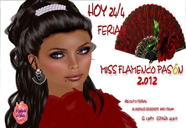 Final del Certamen Miss Flamenco Pasión