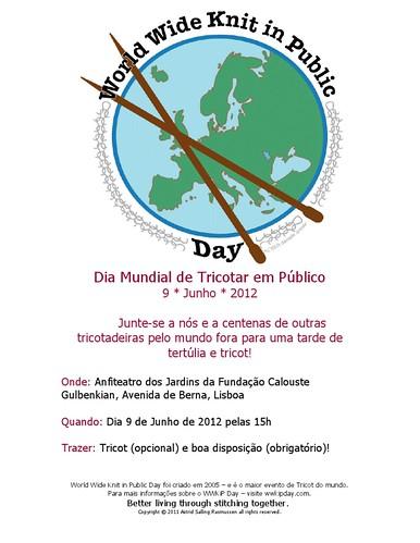 dia mundial de tricotar em público 2012