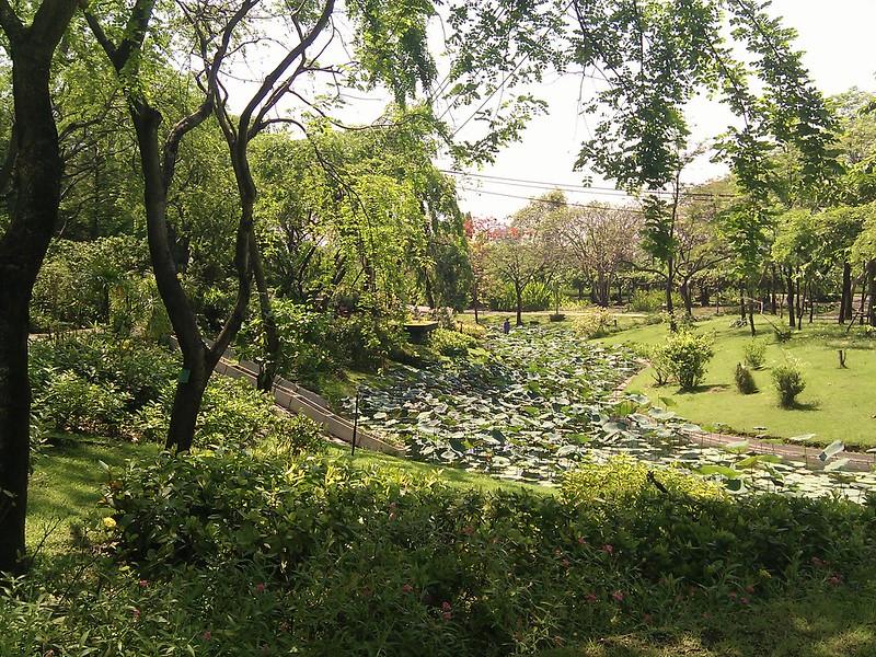Queen Sirikit Gardens, Bangkok, Thailand