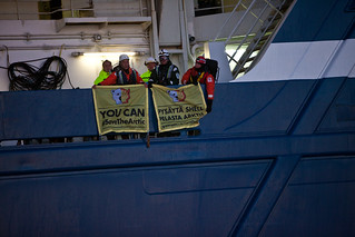 Greenpeace Stop Shell Nordica
