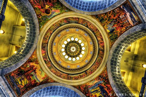 abstract architecture utah dome rotunda capitalbuilding jamesneeley