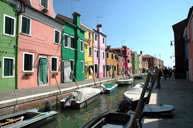 Canal, Venetian lagoon