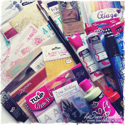 mixed media giveaway by traci bautista4