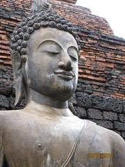 Giant Sukhotahi Buddah
