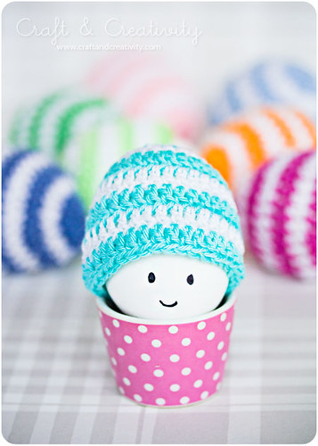 Crochet Egg Cosies by Craft & Creativity
