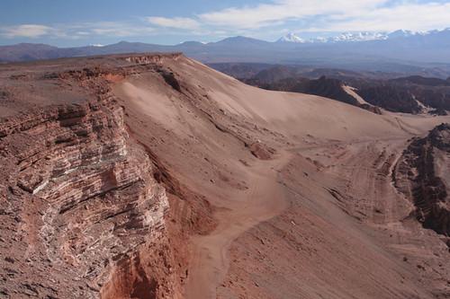 entering the Valle de la Muerte