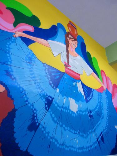 Dança típica - Paraguai | Painel #02 by GregOne Brasil