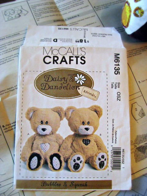 Daddy Bears Pattern