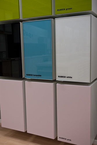 Pink doors at Ikea