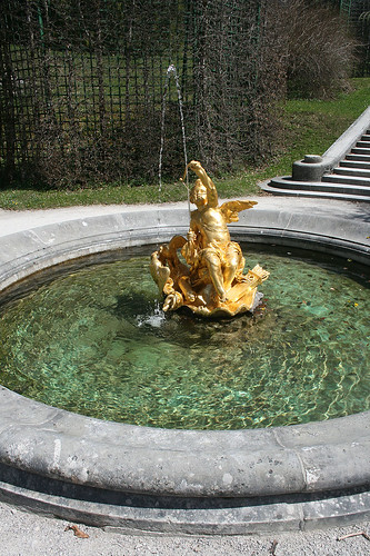 Engelswasserspeiher - Schloß Linderhof