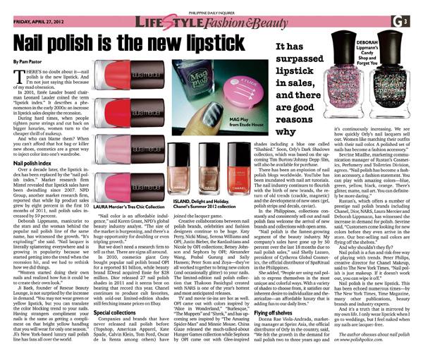 pam-nail polish