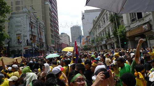 Bersih 3.0 at Jalan TAR