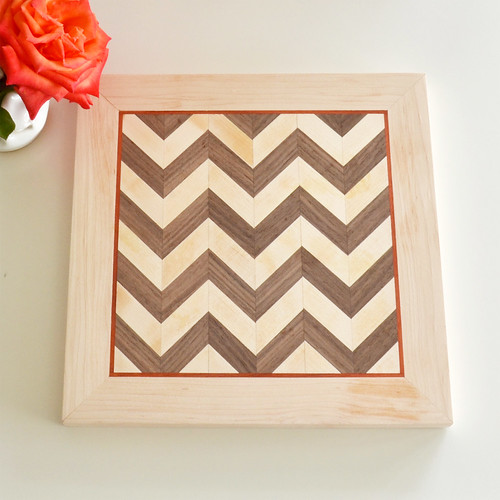 Chevron Serving Tray