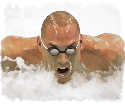 Nadador by JLMeana