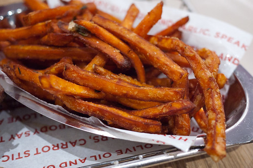 Sweet Potato Smashfries